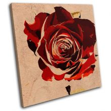 Abstract Rose Love Floral - 13-0800(00B)-SG11-LO